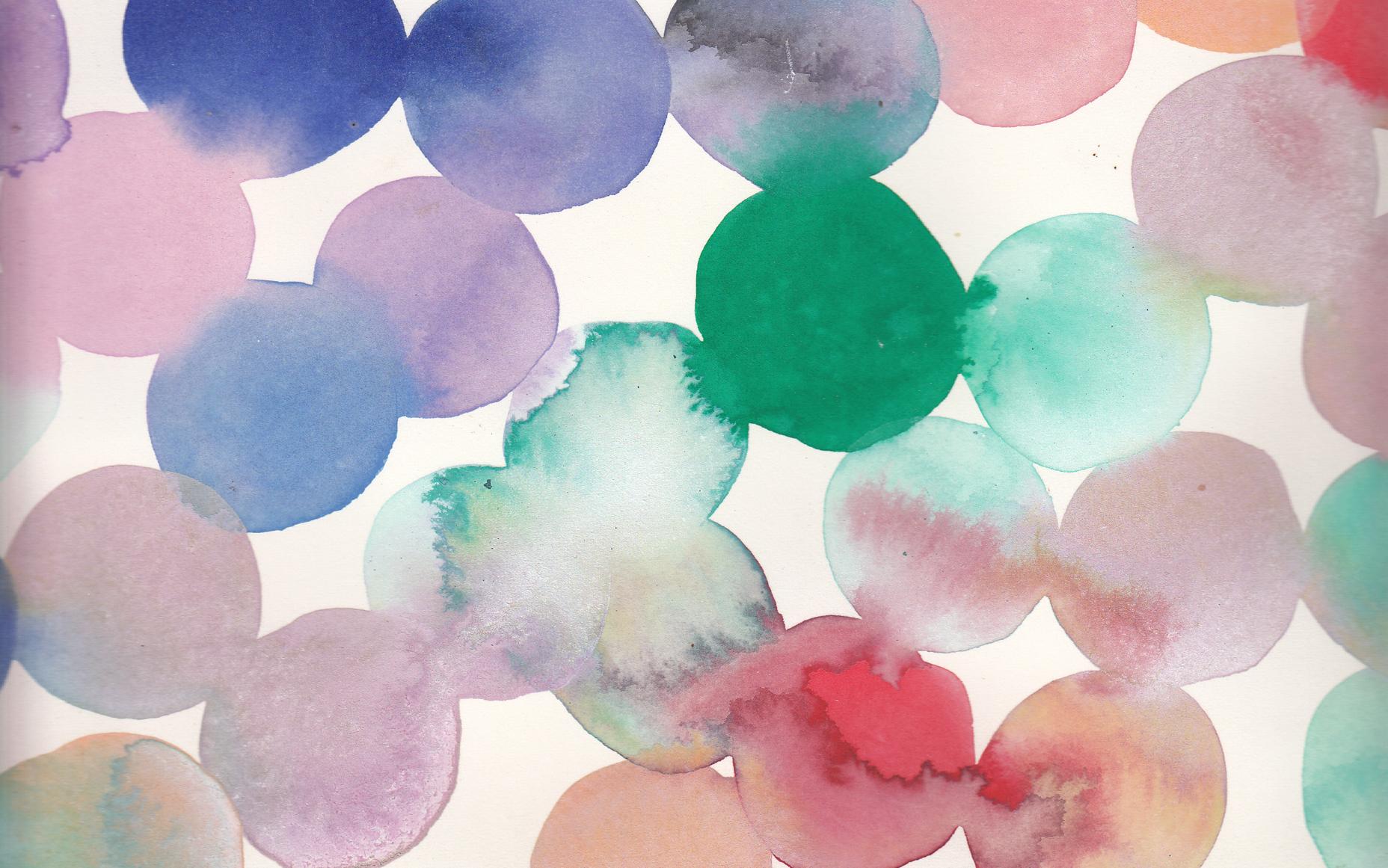 Emily Green For Design Love Fest Wallpaper 3 Peach Watercolour Abbie 39 S Babble