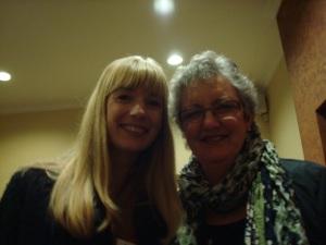 Abbie and Mum