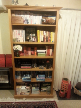 My bookcase (one of them)