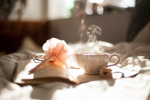 To drink tea and to journal