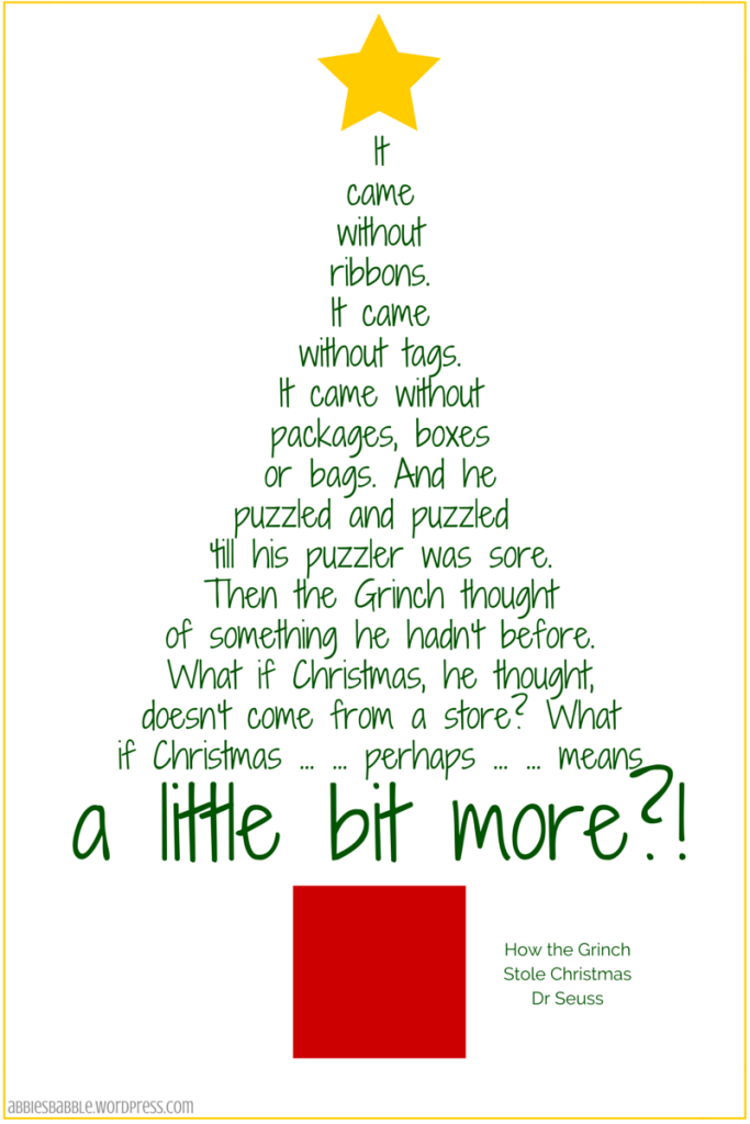 #Christmas #Grinch #DrSeuss