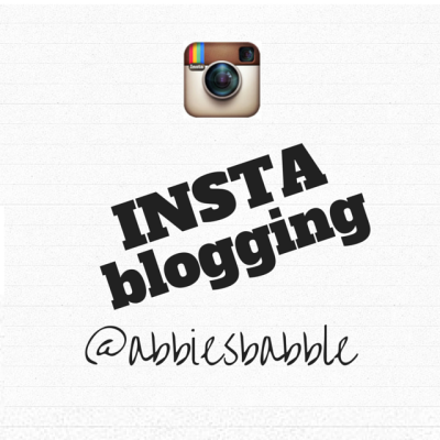 INSTAblogging