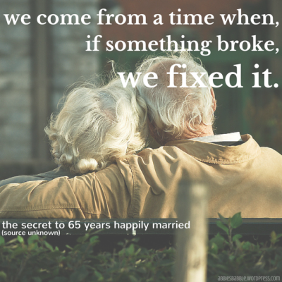 the secret to happy marriage #goodadvice #instablogging #abbiesbabble